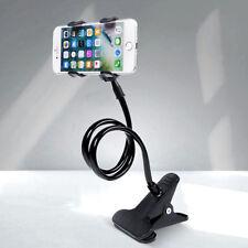 Universal Halterung Tisch & Bett Schwanenhals Halter für Smartphone Handy iphone