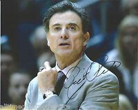LOUISVILLE CARDINALS RICK PITINO HAND SIGNED 8X10 PHOTO W/COA NCAA CHAMPIONS