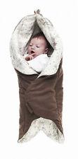 Wallaboo Baby Wrap, Wrapper Leaf - Chocolat
