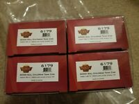 Broadway Limited HO 6000gal Tank Car Variety Set of 4 New Free Shipping