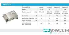 Fracarro MBX 5740 LTE centralino