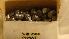 New listing 54 Cal Maxi Ball Bullets Unlubed