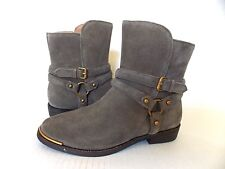 UGG KELBY Suede Ankle Boots Gray /Olive (Mouse) color US 10/ 41 NEW #1019151
