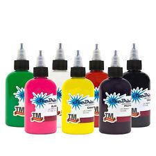StarBrite Colors 7 Color Tattoo Inks Set 1/2oz Bottle