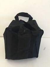 Bocce Accessories - Heavy Duty Nylon Bocce Bag - Black with Black Handles