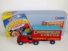 CORGI BEDFORD O ARTICULATED TRUCK CHIPPERFIELDS CIRCUS 1/50 97303