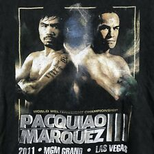 Pacquiao Marquez 2011 Championship Fight Shirt Official Print Adult Small #2G