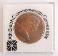 1974 BRITISH COMMONWEALTH GAMES NEW ZEALAND DOLLAR COIN.