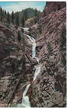 SEVEN FALLS Water South Cheyenne Canon  COLORADO SPRINGS Postcard CO Waterfalls