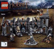 Lego The Hobbit ... # 79014 Dol Guldur Battle - Bauanleitung (keine Steine!)