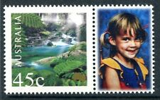 2000 Nature & Nation 45c Rainforrest  MUH With Personalised Tab - Young Girl