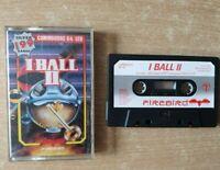 I Ball 2 II Commodore 64 C64 Computer Game Jewel Case Cassette