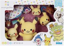 Pokemon Anime Present Monpoke Pikachu First Gift Set for Baby Sega Toys Japan