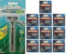 Gillette Vector Plus Razor + 100 Personna Twin Pivot Plus Cartridges