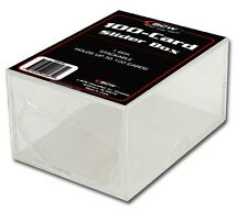 10 BCW 2 Piece Slider Boxes (100 Count)