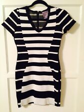 New Herve Leger Dress Black White Size Small