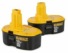 DEWALT 2 -18V 18 VOLT DC9096 XRP BATTERIES NEW!