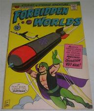 FORBIDDEN WORLDS #138 (ACG 1966) DRAGONIA appearance (FN+) Lou Wahl cover