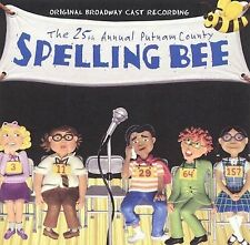 NEW The 25th Annual Putnam County Spelling Bee (2005 Original Broadway Cast)