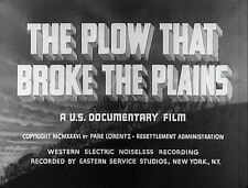 The Plow That Broke The Plains 1937 Vintage Dust Bowl Tennessee Valley Authority