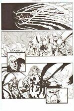 Establishment #13 p.11 All Action - Walking Dead Artist 2002 by Charlie Adlard Comic Art