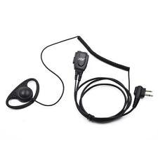 2 Pin Ear Hook Headset Earpiece for Motorola RDU2020 RDU2080D RDU4100 RDU4160D