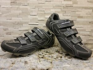 Specialized Body Geometry Sport MTB Shoes Black Size 44 US 10.5 Men's