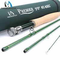 Maxcatch Fly Fishing Rod 3/4/5/6/7/8/9/10/12WT Fast Action IM8 Carbon Blank