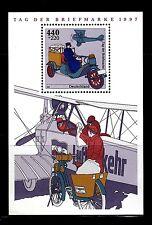 SELLOS TRANSPORTES  ALEMANIA F. 1997 HB 40 DIA DEL SELLO Transporte Postal 1v.