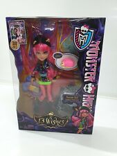 More details for monster high howleen wolf 13 wishes doll - brand new sealed