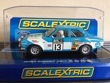 Scalextric Mk1 Ford Escort RS 1600 No13 1973 RAC Rally (C3029)  Mint Boxed