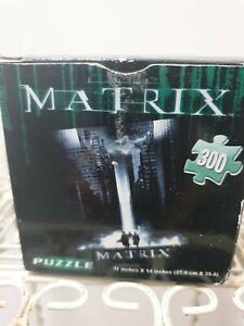 MATRIX Jigsaw Puzzle 300 Piece Bag factory sealed Box shows wear.