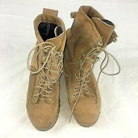 WELLCO Desert Combat Boots Size Men's 8 R US Army NON Goretex Lined Vibram Sole