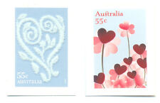 Australia-3135/6 mnh Greetings 2009-Flock & Foil
