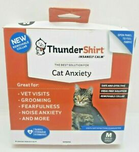 Thundershirt Cat Anxiety Air Solid Gray Size Medium 9-13 Lbs Calming Wrap