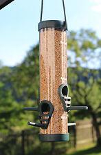Vogelfutter Station / Vogel Futterhaus mit 4 Öffnungen und Aufhängung