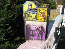 Legends of Batman CATWOMAN Figure with Collectors Card DC Comics Kenner 1994