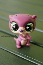 Littlest Pet Shop Purple Harper Hoops Otter #4098 Figure