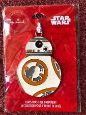 2019 Hallmark Enameled Metal Christmas Tree Ornament Star Wars Bb-8 New