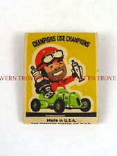 Indy Car Racing Champion Spark Plugs matchbook Tavern Trove