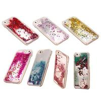 Liquid Glitter Water Stars Bling Sparkly Case Cover For iPhone