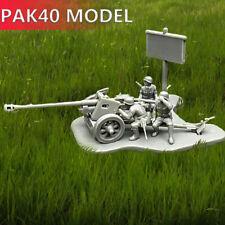 4D 1:72 Scenario PAK40 Assembly Model Cannon  Assemble Puzzles Building Bricks