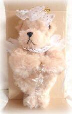 "Annette Funicello *New* 10 1/2"" Twyla Angel Mohair Teddy Bear Holding Star Le"