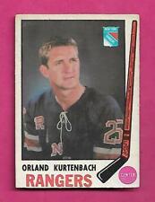 1969-70 OPC # 188 RANGERS ORLAND KURTENBACH VG CARD (INV# C4940)
