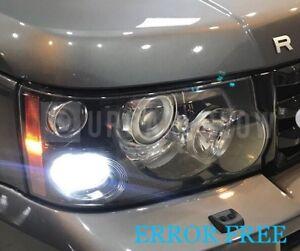 RANGE ROVER L322 VOGUE XENON WHITE LED Side Light Bulbs CANBUS ERROR FREE