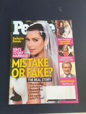KIM KARDASHIAN'S WEDDING ALBUM September 2011 PEOPLE Magazine ROSE McGOWAN