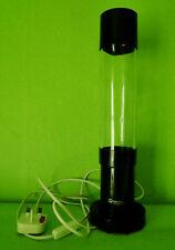 Mathmos Jet Lava lamp black base bottle