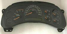 2003 2004 Chevy GMC Silverado Sierra MT Speedometer Gauge Cluster Dash 15182150