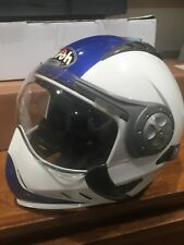 AIROH TR 1 HELMET BLUE WHITE CASQUE motorcycle scooter ADULT SMALL 55-56 Gr 1350