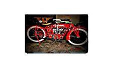 1919 Indian Power Plus Bike Motorcycle A4 Retro Metal Sign Aluminium